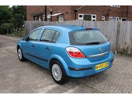 used vauxhall astra hatchback 1 6 i 16v life 5dr in greenford