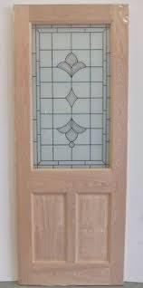 78x30 Exterior Door Oak Harlequin Warwick External Glazed Door 78x30 80x32