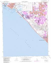 Long Beach Ca Map Seal Beach Topographic Map Ca Usgs Topo Quad 33118f1