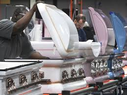 matthews casket company genesis casket brings gloss to staid business