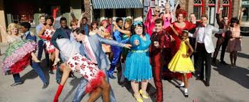 flash of nbc s hairspray live rehearse for thanksgiving