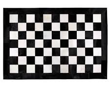 Checkerboard Area Rug Black And White Checkerboard Rug 40 Ideas Decor With Black And