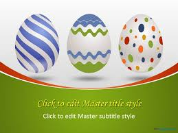 Easter Egg Decorating Ppt by Free Easter Celebration Ppt Template