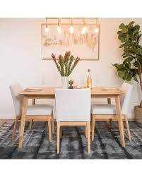5 Chair Dining Set Shopping Deals On Langley Tunis 5 Dining Set