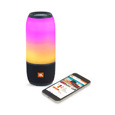 light up portable speaker jbl pulse 3 waterproof bluetooth speaker with 360 lightshow