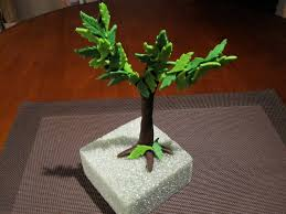 fondant tree liv for cake
