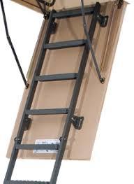 metal insulated attic ladder 30 x 54