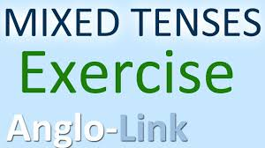 english tenses exercise grammar practice youtube