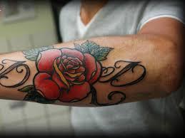 23 astounding rose tattoos for men slodive
