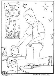pastor coloring page glum me