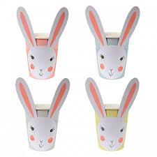 meri meri rabbit bunny cups by meri meri