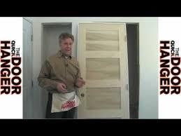Hanging Prehung Door Interior How To Hang U0026 Install Interior Pre Hung Door Youtube