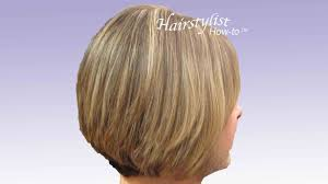 difference between stacked and layered hair layered graduated bob hair tutorial stacked bob razor cut youtube