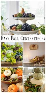 Fall Centerpieces 10 Easy Fall Centerpieces For An Autumnal Table 31 Daily