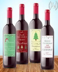 Christmas Wine Christmas Wine Labels Label U0026 Litho Label U0026 Litho