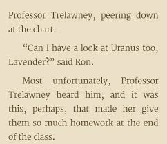 i never realized ron was dirty when i read the books as a child