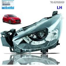 mazda made in lh left projector head lamp oem for mazda 2 mazda2 sedan hatchback