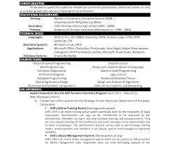 computer science resume resume templateer science sleser doc student cv word scientist