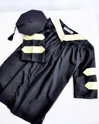 infant graduation cap and gown baby cap and gown this is for a doctoral graduation that my