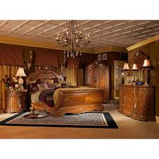bedroom traditional old style for king size sleigh bed on bedroom