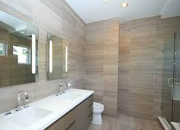 Grey Modern Bathroom Point Grey Spec House Modern Bathroom Vancouver By