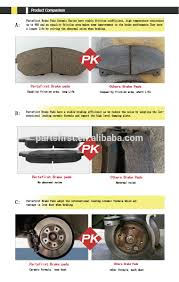 nissan micra spare parts car disc brake pads 41060 ax625 fmsi d1435 aftermarket sale