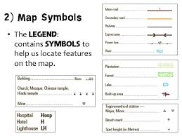 map legend symbols chapter 2 topo map reading