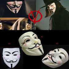 v for vendetta costume wholesale 500pcs mask v for vendetta mask anonymous
