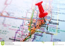 Homestead Fl Map Miami Map Royalty Free Stock Images Image 38674459