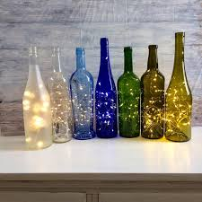 rice lights battery operated wine bottle decor lights inside wine bottle battery operated