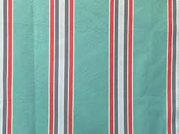 Red Drapery Fabric Sea Green Red And Blue Stripes Curtain Fabric By The Yard