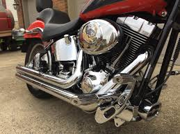 2006 harley davidson fxstd i softail deuce red grey