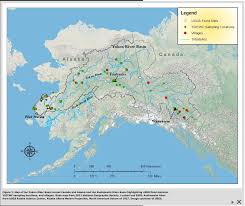 Canadian River Map Community Based Monitoring Programs In Alaska Alaska Ocean