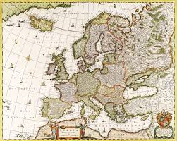 Old Map Of Europe by Antique Maps Of The Worldmap Of Europenicolas Visscherc 1640