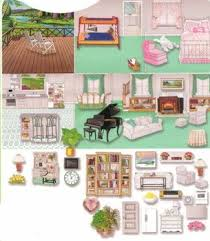 printable barbie house furniture felt doll house furniture designed for use with our 8