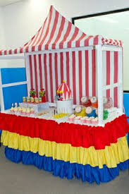 Carnival Themed Table Decorations Centerpieces For Circus Theme Homecoming Dance From Scratch