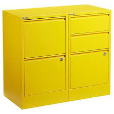 Orange Filing Cabinet Bisley Filing Cabinets The Container Store
