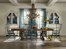 hooker furniture dining room sanctuary rectangle trestle table