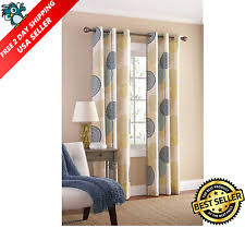 Curtains Set Room Darkening Curtains Ebay