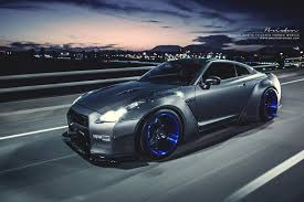nissan gtr liberty walk blue brixton forged wheels liberty walk nissan gtr coupe cars wallpaper