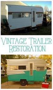 how to paint a vintage trailer interiors by kenz