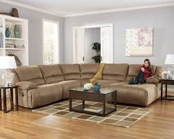 hogan duraplush mocha 5 piece sectional w right facing chaise by