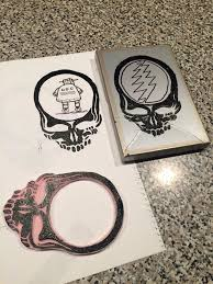 Steal Your Face Flag Steal Your Face Rubber Stamp 9 Steps With Pictures