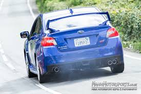 classic subaru 2015 subaru impreza wrx sti to tackle the tt course manx