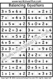balancing equations u2013 1 worksheet free printable worksheets