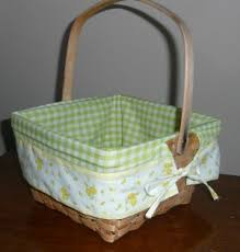 create your own gift basket sewing basket liners transforms a gift basket