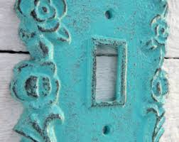 Shabby Chic Switch Plate by Iron Switch Plate Etsy