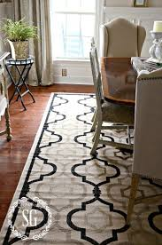 Dining Room Carpet Protector by 5 Rules For Choosing The Perfect Dining Room Rug Stonegable