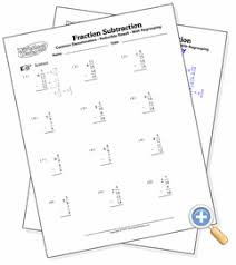 fraction math subtraction mixed regrouping gif