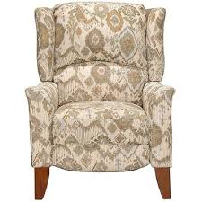 cream u0026 tan high leg recliner jamie rc willey furniture store